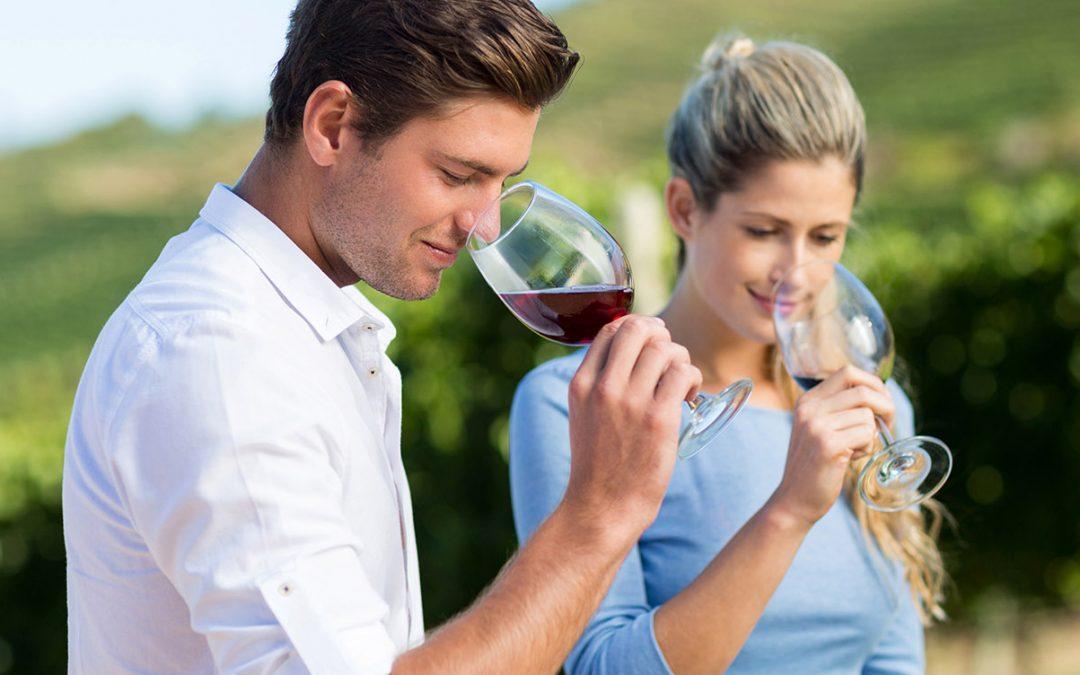La relación del olfato con el vino